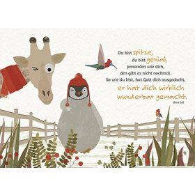 Postkarten: Du bist spitze, 4 Stück