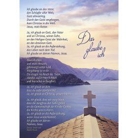 Postkarten: Ich glaube an den Vater, 4 Stück