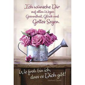 Faltkarte: Ich wünsche dir auf allen Wegen - Geburtstag