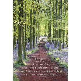Faltkarte: Bewahre uns Gott - Konfirmation