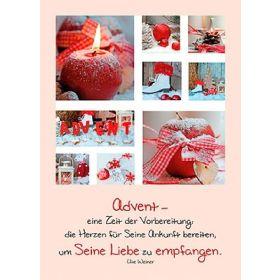 Postkarten: Advent - eine Zeit der Vorbereitung, 12 Stück