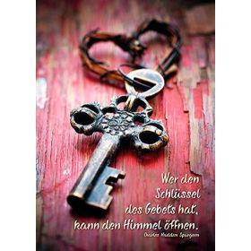 Poster: Wer den Schlüssel - A3