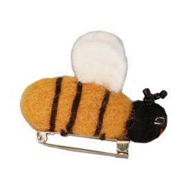 Anstecker Biene