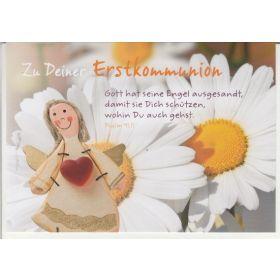 Zu Deiner Erstkommunion - Faltkarte
