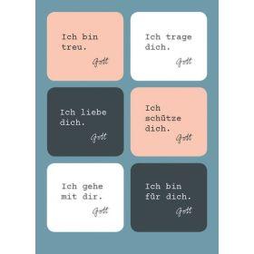 Postkarte - Zusagen Gottes (Sticker)
