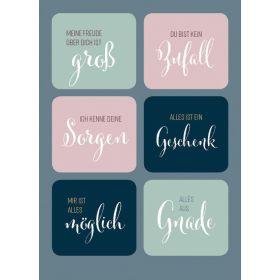 Postkarte - Zusprüche Gottes (Sticker)