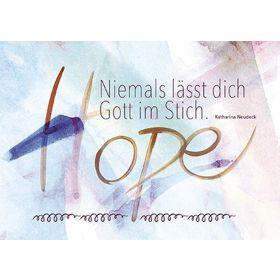 "Postkarten ""Niemals"" , 12er-Serie"