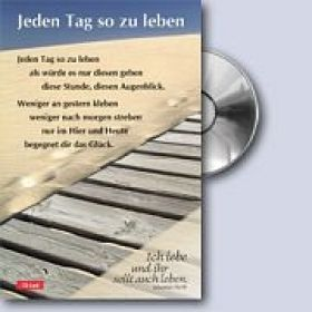 CD-Card: Jeden Tag so zu leben