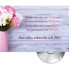 CD-Card: Das alles wünsche ich dir (Blumenstrauß)