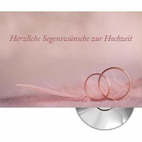 CD-Card: Herzliche Segenswünsche (Ringe)