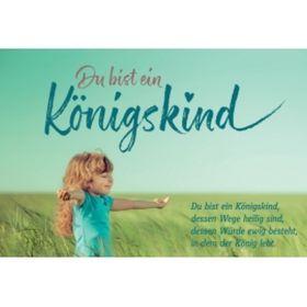 CD-Card: Du bist ein Königskind - Motiv Kind