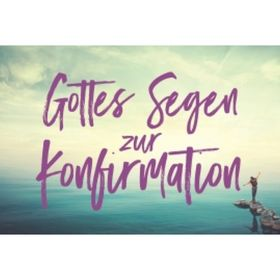 CD-Card: Gottes Segen zur Konfirmation - Motiv See