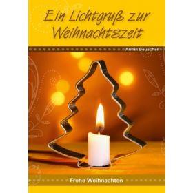 Grußbrief: Ein Lichtgruß zur Weihnachtszeit