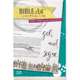 Bible Art Journaling - Das Postkartenbuch
