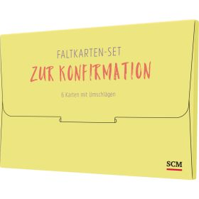 "Faltkarten-Set ""Zur Konfirmation"""