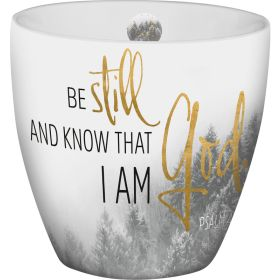 "Grace & Hope - Tasse ""Be still and know"""