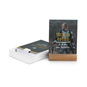 Tochter Gottes - 12 Karten mit Holzaufsteller