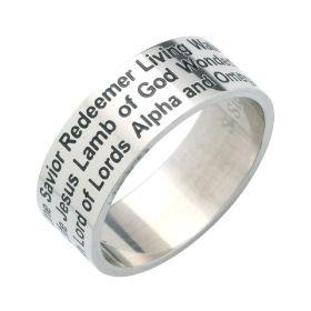 "Fingerring ""Names of Jesus"" - 20 mm"