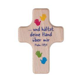 """Handschmeichler Kreuz """"Hände"""""""
