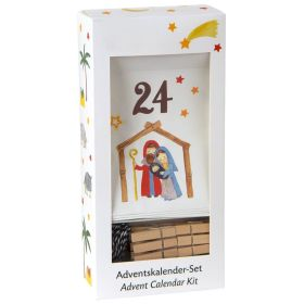 "Adventskalender Set ""Krippe"""