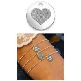 """Armkette mit Anhänger """"Herz"""""""