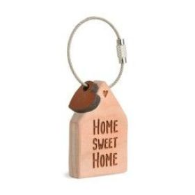 "Schlüsselanhänger Haus ""Home sweet home"""