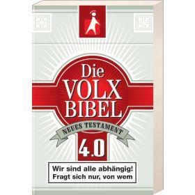 Die Volxbibel NT 4.0 - Motiv Zigarettenschachtel