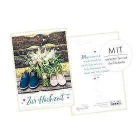 Faltkarte - Zur Hochzeit