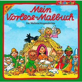 """Mein Vorlese-Malbuch """"Die Weihnachtsgeschichte"""""""