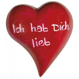 Handschmeichler-Herz: Hab dich lieb