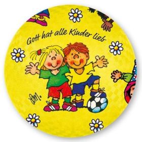 """Spielball """"Gott hat alle Kinder lieb"""""""