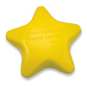 Antistress-Stern - gelb