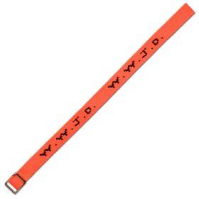Armband WWJD neon-orange