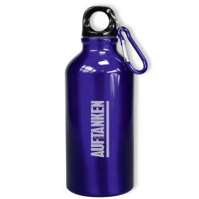Trinkflasche - Auftanken - blau