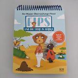 Der Wasser-Überraschungs-Pinsel - Fips und die Tiere in Afrika