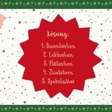 24 zauberhafte Weihnachtsrätsel - Adventskalender
