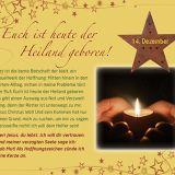 Euch ist heute der Heiland geboren - Adventsaufstellkalender