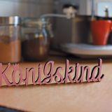 """Dekowort """"Königskind"""" rosa"""