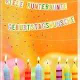 Postkarten-Set - Geburtstagswünsche - 10+1 Stk.