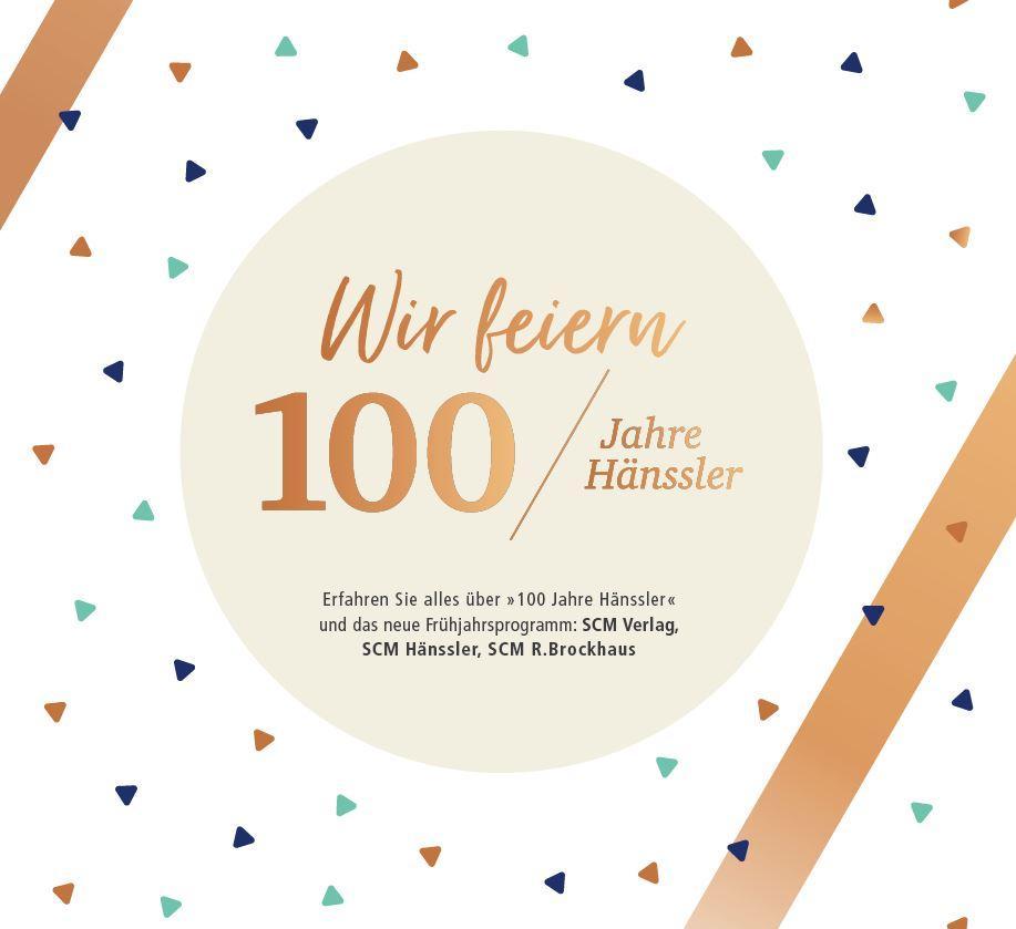 Tag der offenen Tür: 100 Jahre Hänssler Verlag!