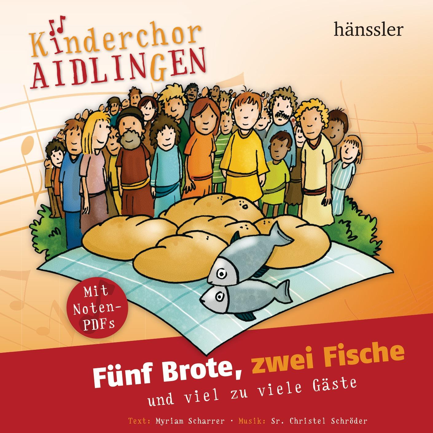 5 Brote, zwei Fische (Audio - CD)